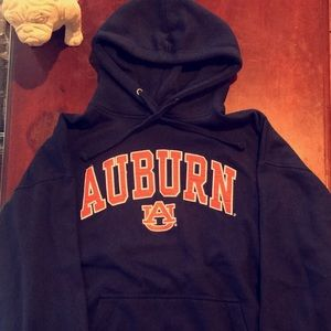 """Auburn"" Stitched Hoodie"